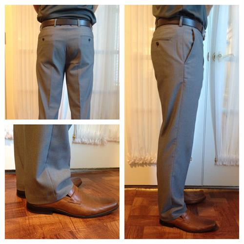 Men's Trouser alterations- Waistband and Hemming