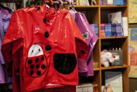 Kids love Kidorable raincoats, rainboots, and umbrellas!