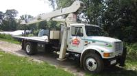 Our 62' crane can assist with your lift.