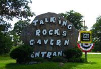 Entrance at Talking Rocks Cavern