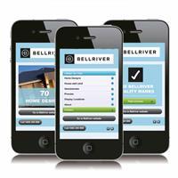 Bellriver Homes Mobile website
