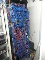 Typical Patch Panel- imposible to manage by IT staff