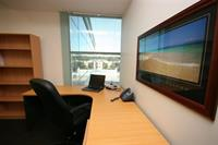 Office with window views available for one to two people