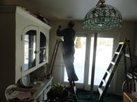 Installing curtain rod