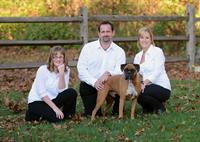 The Harrison's and Duke , owners of Patriot Pest Solutions