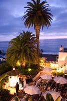Hotel Laguna's historical Rose Garden for weddings and events