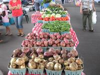 Fresh produce, all grown within 50 miles of The Market.  That is real LOCAL