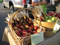 Apples, peaches and other fruits provide for the sweet tooth