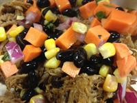 Pulled Pork with Sweet Potato Relish