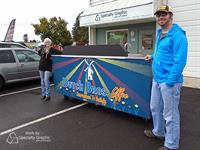 Coffee Cart Wrap for Dutch Bros.