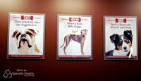 Custom digital print posters and promotional campaign materials