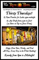 Thursday~Thirsty Thursday and Karaoke