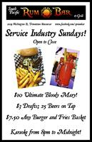 Sunday~Industry Sunday's and Karaoke