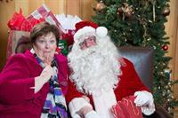 WEO Ann Mason & Santa!