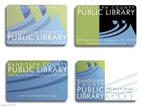 Library Cards Client: Randolph County Public Library