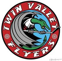 Hockey Team Logo   Client: Twin Valley Flyers (New Hampshire)
