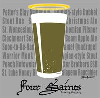 Four Saints T-Shirt Design  Client: Four Saints Brewing Company