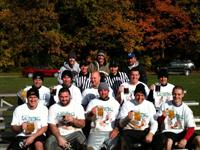 Wright Realtors Team Winning Flag Football Tournament