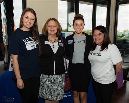 UWHC Staff and Board Chair Gina Wharton