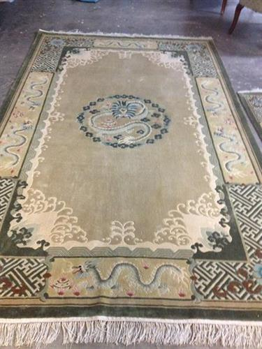 Silk Rug - Restored - AFTER
