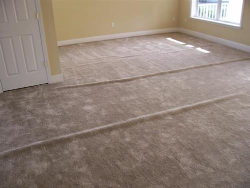Carpet with ripples - BEFORE