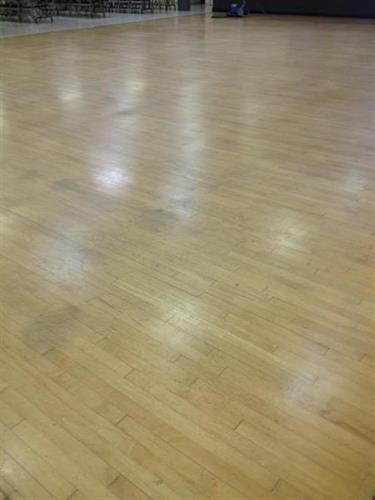 Wood Floor Refurbish - BEFORE