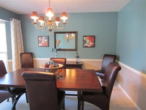 Diningroom after staging