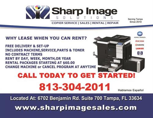 Copier and Printer Repair and Rental in you area Call Us Now!