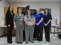 LCHEC Pharmacy Tech class in 2013