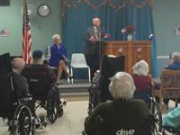 Congressman Tonko speaking for our Veteran's Day Ceremony