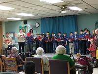 Boy Scout Caroling