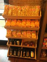 We make our own crispy caramel, real cheddar cheese corn. Then we combine them to create our Jackson Triple Mix!