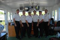 The Captains of the Motor Ship Mount Washington