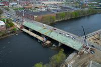 Manchester Granite Street Bridge - under construction
