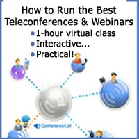 Run the best Teleconferences!