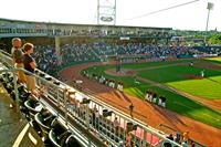 Enjoy the sunny days at the Fisher Cats game.