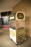 Napa Flats Gelato Cart Wrap