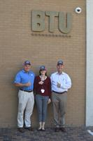 BTU supports breast cancer research with our annual staff pink hat fundraiser