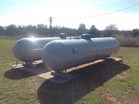 Texas Propane Commercial tank installation
