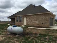 Texas Propane above ground tank installation