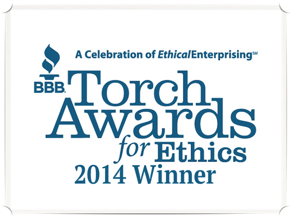 BBB Torch Award for Ethics Winner