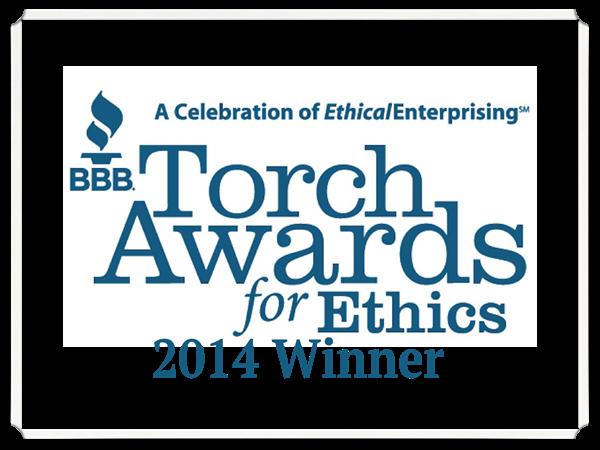 BBB Torch Award for Ethics Winner