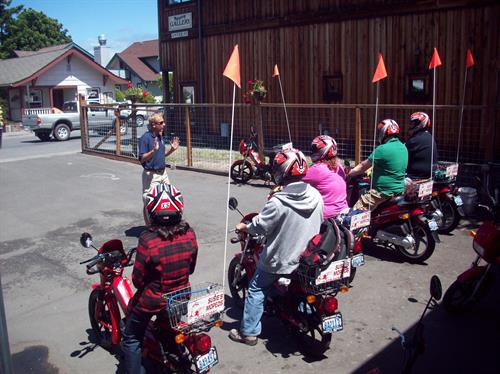 Moped orinetation and safety training