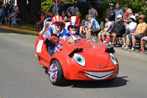 4th of July fun in Friday Harbor