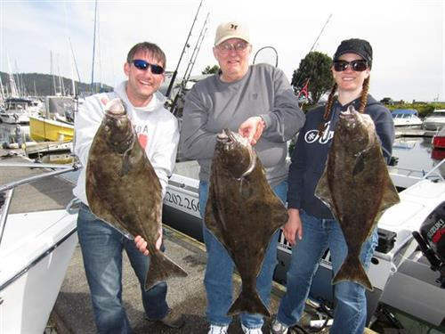 Halibut, San Juan Islands