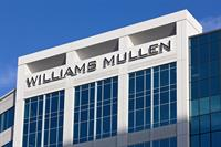 Exterior of the Williams Mullen Center