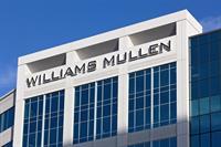Exterior of the Williams Mullen Center