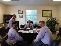 A rare day at NTS - 4 lavendar shirts!