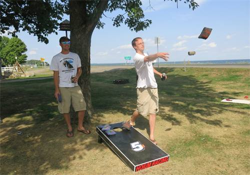 Fun and Games at Twin Pines Resort on Lake Mille Lacs