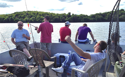 Twin Pines Resort - Launch Fishing on Lake Mille Lacs in Garrison MN